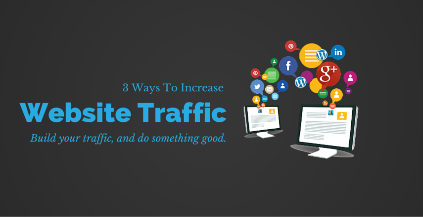 website traffic for leads